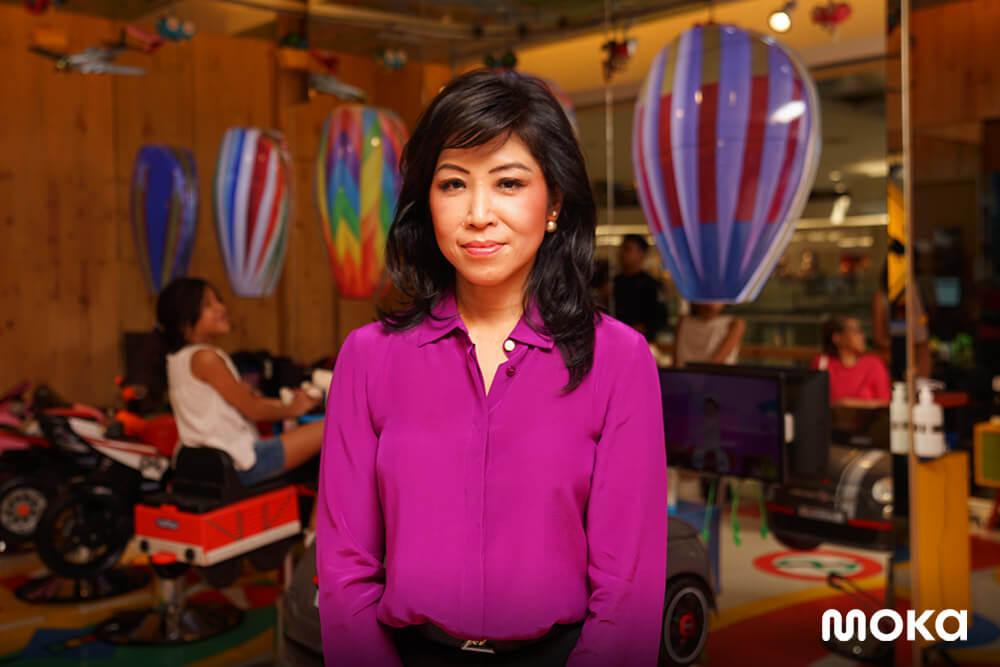Owner Kiddy Cuts yang merupakan salon khusus anak telah meraih kesuksesan yang didorong dengan pemakaian Moka pada bisnisnya