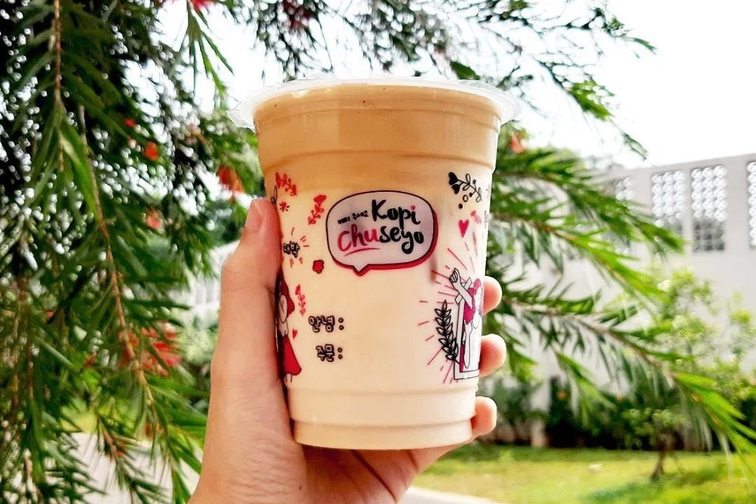 Chuseyo Coffee from K-Pop kids for the Indonesian K-Pop community