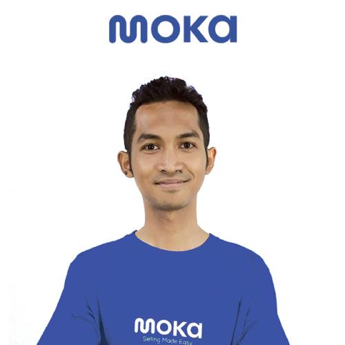 Dhimas Adiyasa, a Software Engineer in Test, gave testimony of working at Moka