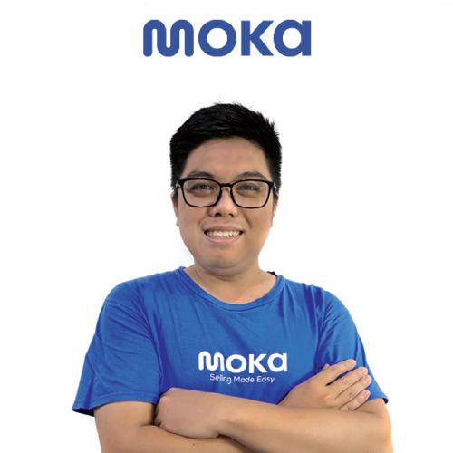 Kelvin Gani, a VP of Products Moka, gave testimony of working at Moka