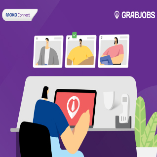 GrabJobs collaborates with Moka as a trusted and reliable platform for business owners to save time in recruiting employees