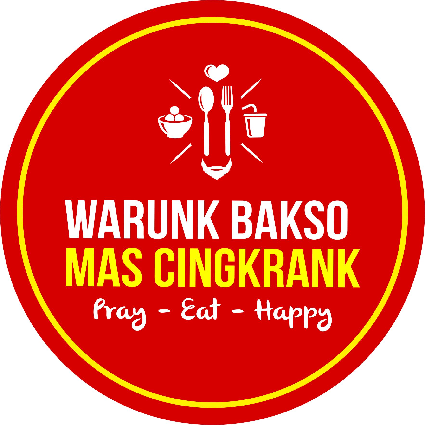 The logo of the Warung Baksi Mas Cingkrank business