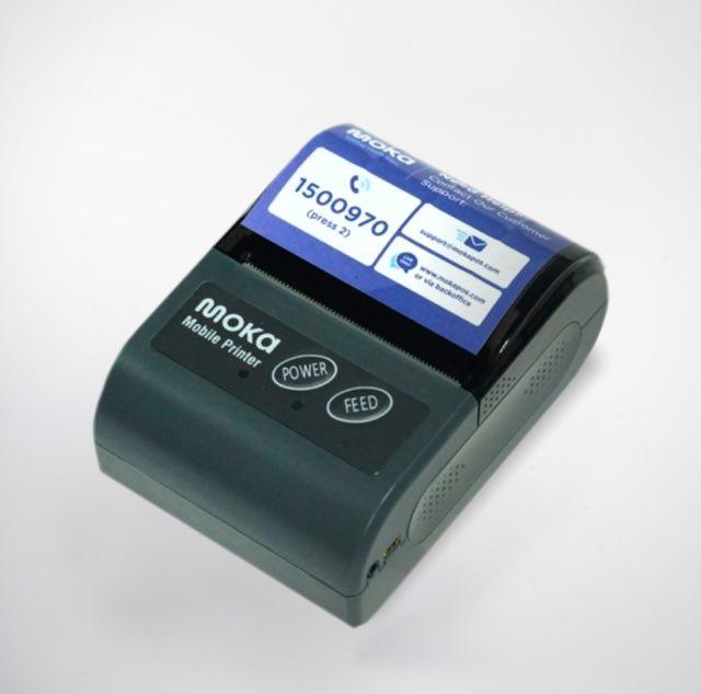 Shop Moka Mobile Bluetooth Printer Hardware