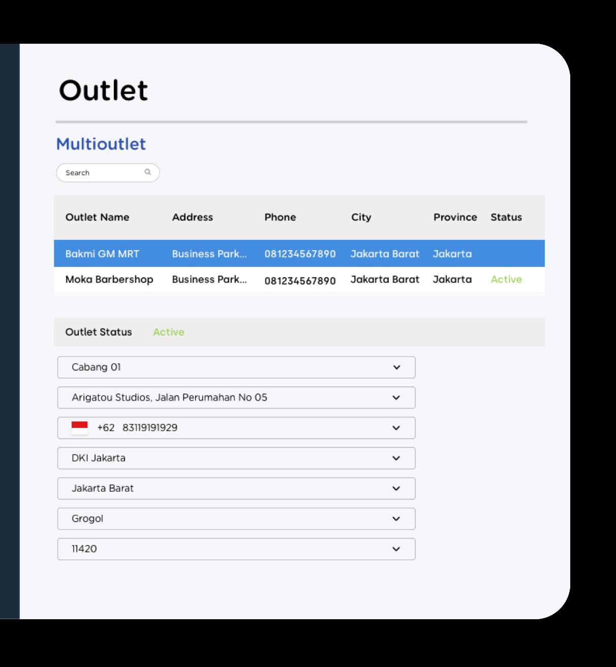 Aplikasi point of sale Moka mengembangkan bisnis dengan dasbor yang terintegrasi untuk berbagai cabang dan survey pelanggan