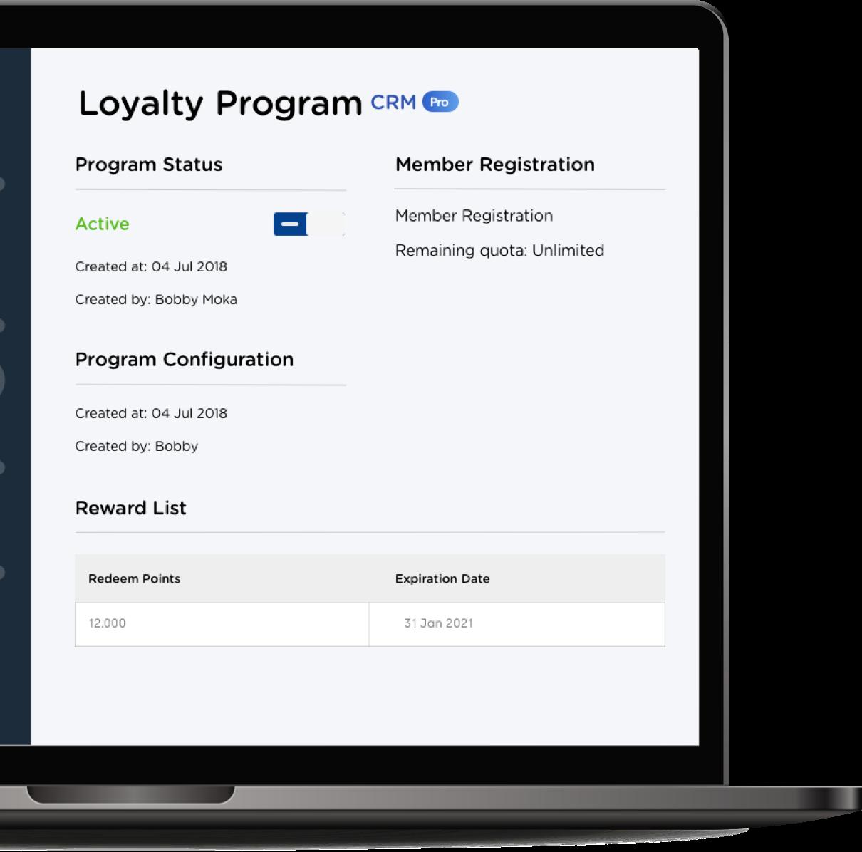 Aplikasi point of sale Moka membantu mengatur diskon & promosi, program loyalitas, dan voucher menarik yang pelanggan butuhkan